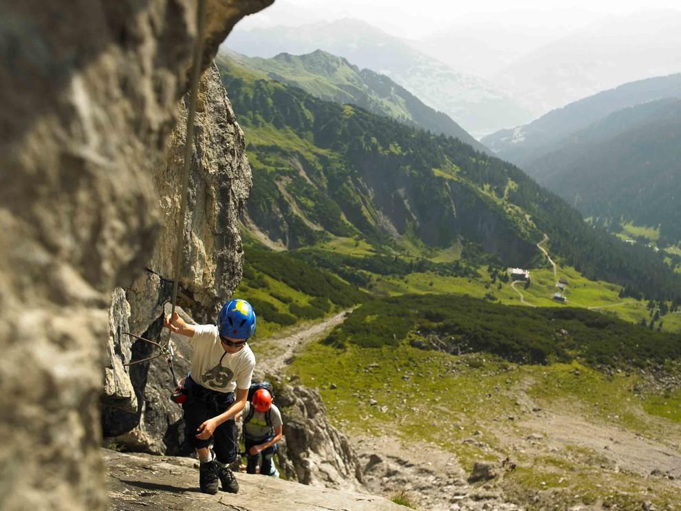 Klettersteig Lünersee : Klettern am lünersee im rätikon einzigartige klettertouren